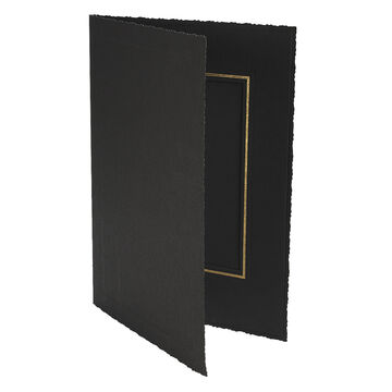 Photo Charcoal 4x6-V Folder - 4x6-V