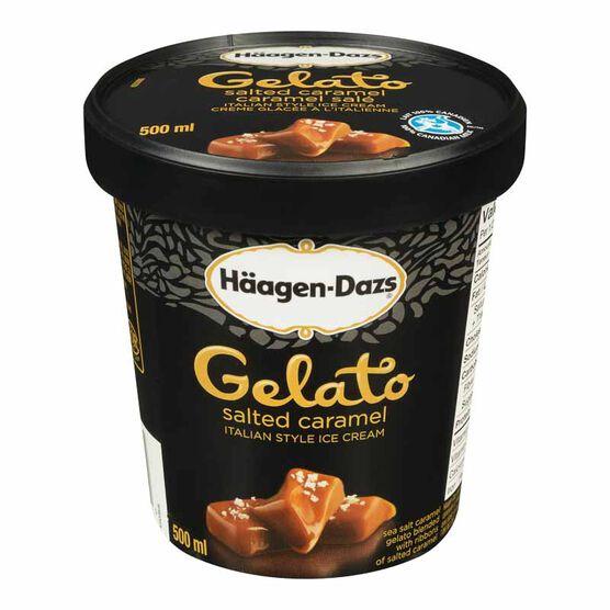Haagen Dazs Gelato - Sea Salt Caramel - 500ml