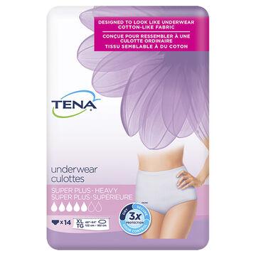 Tena Protective Underwear - Super - Large - 16's