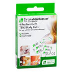 High Tech Health Circulation Booster Replacement TENS Body Pads - 4's