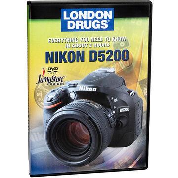 Jumpstart Guide for Nikon D5200 - DVD