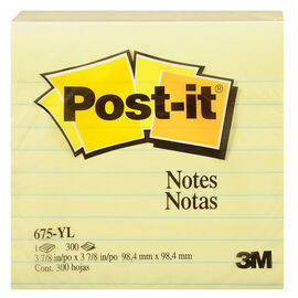 Post-it Notes - Lined - 300 Sheets