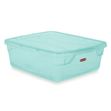 Rubbermaid Clever Store Latch Box - Teal - 67.1L