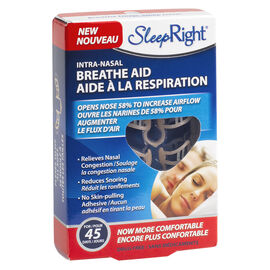 SleepRight Nasal Breathe Aid - 3's