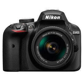 Nikon D3400 with 18-55mm VR Lens - Black - 33891