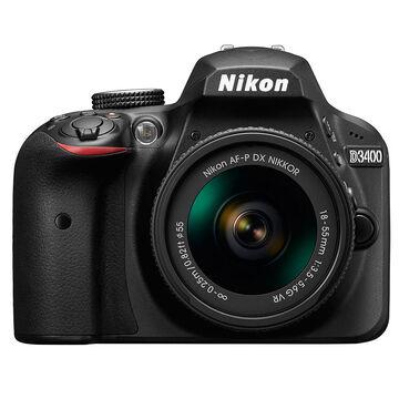 Nikon D3400 with 18-55mm VR Lens - Black - 33891