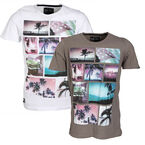 Dissident Men's Printed Tee - Assorted