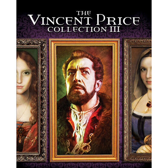 The Vincent Price Collection III - Blu-ray