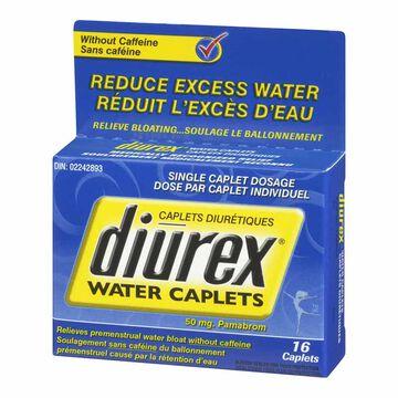 Diurex Caffeine Free Water Pills 50mg - 16's