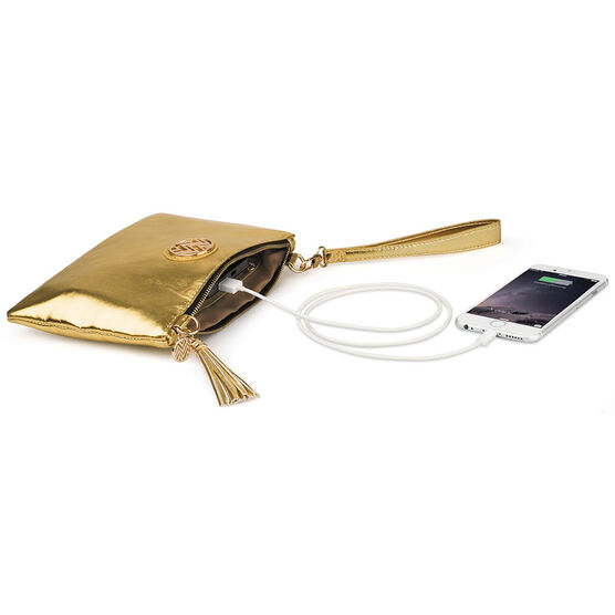 Macbeth Power Clutch Small - Gold - 49284