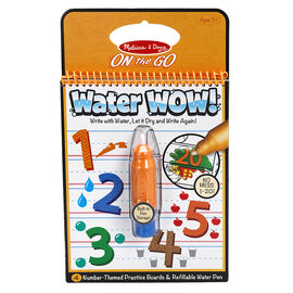 Melissa & Doug On the Go Water WOW! Activity Book - Numbers - 5399