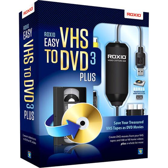 Roxio Easy VHS to DVD3 Plus - 251000CA