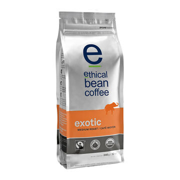Ethical Bean Coffee - 340g - Exotic - 340g
