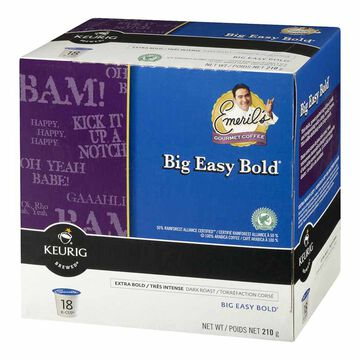 Keurig K-Cup Emeril's Big Easy Coffee Pods - Bold - 18's
