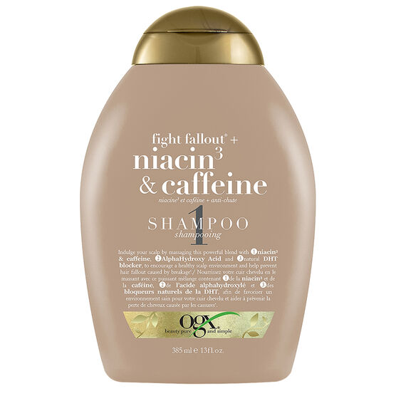 OGX Niacin3 & Caffeine Shampoo - 385ml