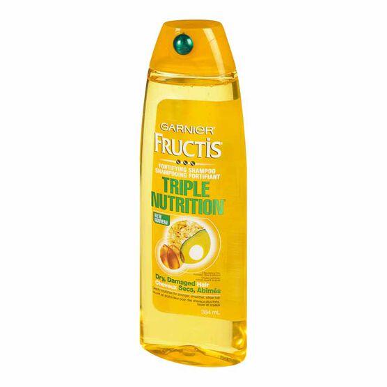 Garnier Fructis Fortifying Shampoo Triple Nutrition - 384ml
