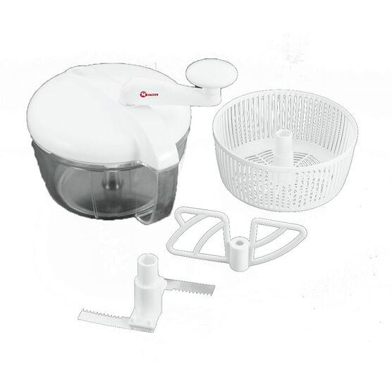 Metaltex Manual Food Processor - White - 16052