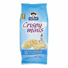 Quaker Crispy Minis - Salt & Vinegar - 100g