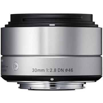 Sigma Art 30mm F2.8 DN Silver Lens for Sony NEX - A30DNSRSE