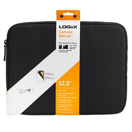 Logiix Canvas Sleeve for 12-inch Tablets - Black - LGX-10980