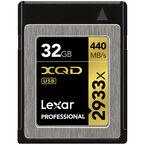 Lexar Professional 2933x XQD 2.0 Card - 32GB - LXQD32GCRBNA2933