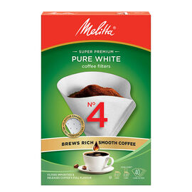 Melitta Coffee Filters - No.4 - White - 40's