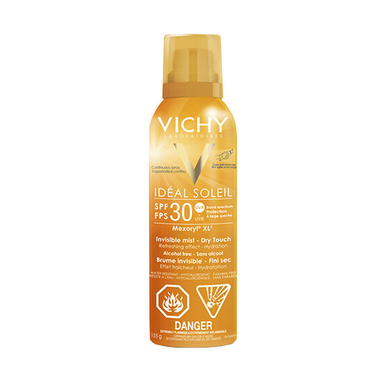 Vichy Ideal Soleil Sunscreen Mist - SPF 30 - 155g