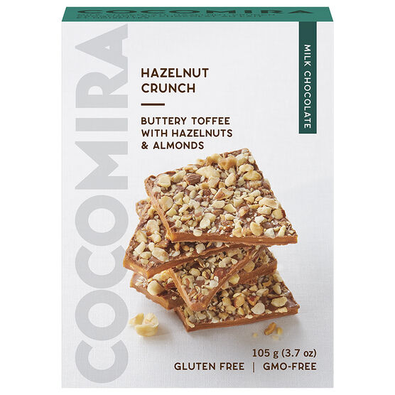 CocoMira Hazelnut Crunch - Gluten Free - 105g
