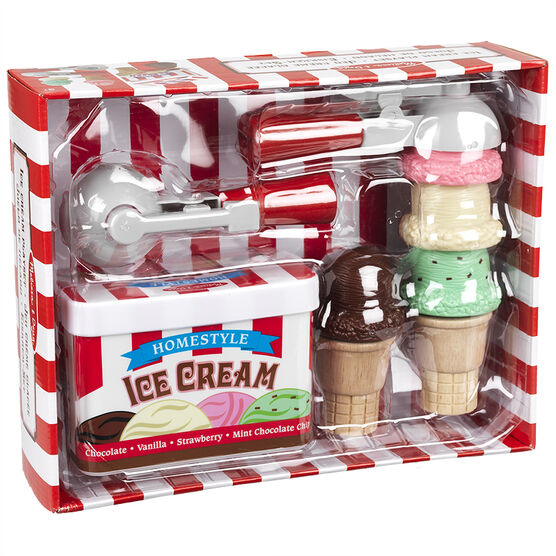 Melissa & Doug - Scoop Stack Ice Cream Set