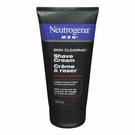 Neutrogena Men Skin Clearing Shaving Cream - 150ml