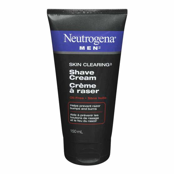 Neutrogena Men Skin Clearing Shaving Cream - 150ml