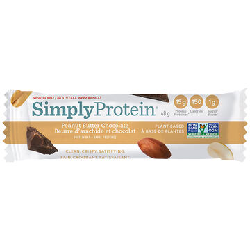 SimplyProtein Bar - Peanut Butter Chocolate - 40g