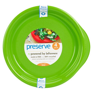 Preserve Everyday Plate - Green - Set of 4