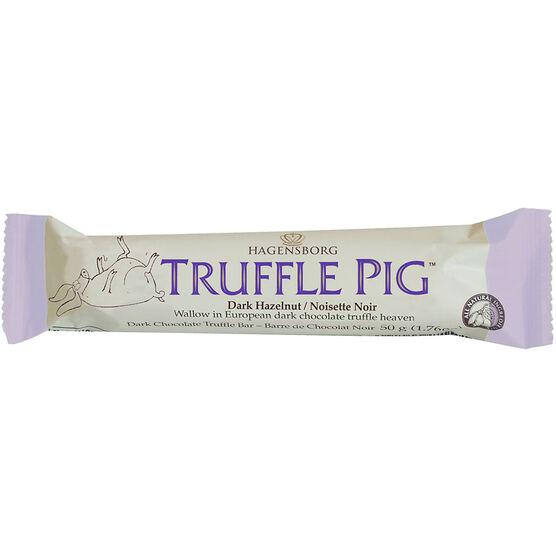 Hagensborg Truffle Pig - Dark Hazelnut - 50g