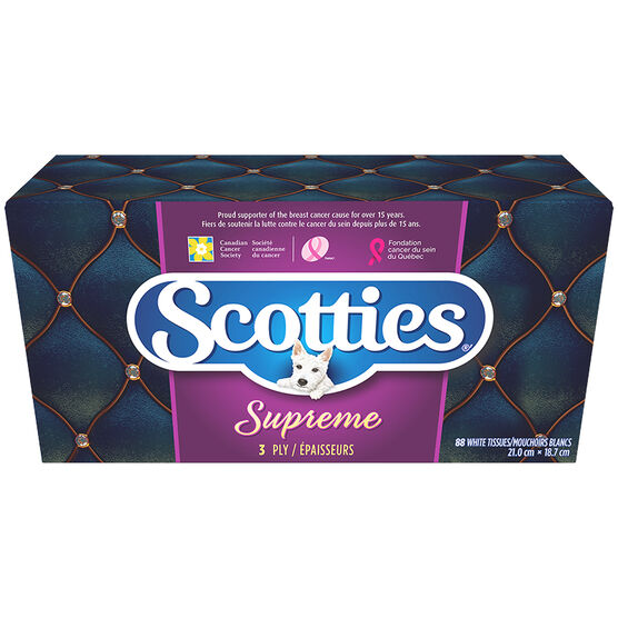 Scotties Supreme Facial Tissues - 88's