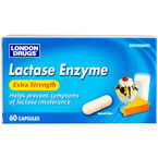 London Drugs Extra Strength Lactase Enzyme Capsules - 250mg - 60's