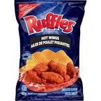 Ruffles Potato Chips - Hot Wings - 63g
