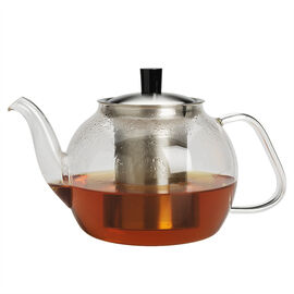 London Drugs Teapot with Infuser - Stainless Steel - 900ml