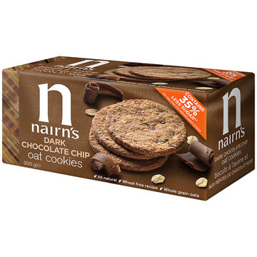 Nairn's Oat Cookies - Dark Chocolate Chip - 200g