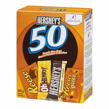 Hershey Chocolate Assortment - 50's/656g