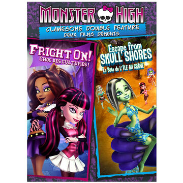 Monster High: Clawesome Double Feature - DVD