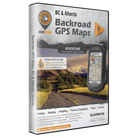 Backroad GPS Maps - British Columbia and Alberta - 00907