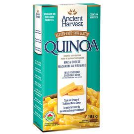 Ancient Harvest Gluten Free Quinoa Mac & Cheese - Mild Cheddar - 185g