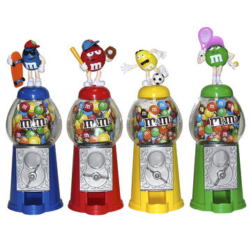 M&M's Sports Candy Dispenser - Assorted - 15g