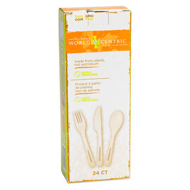 World Centric Compostable Kitchen Flatware - Assorted