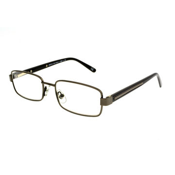 Foster Grant Tommy Reading Glasses with Case - Gunmetal - 1.50