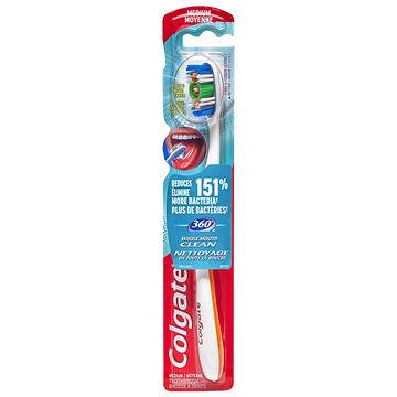 Colgate 360 Manual Toothbrush - Medium