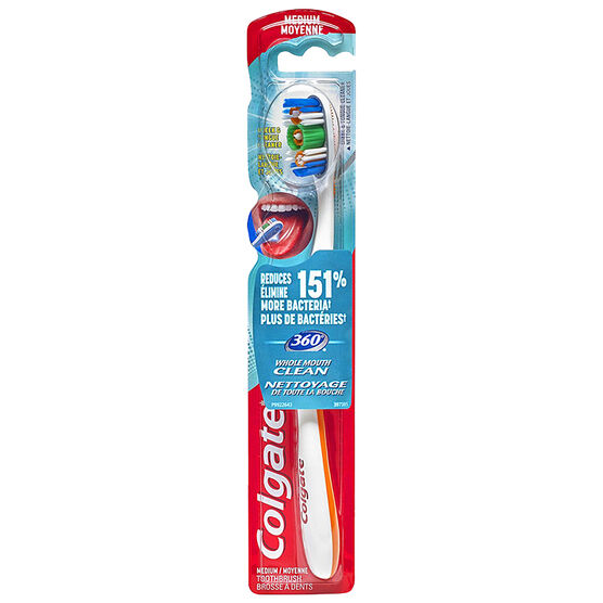 Colgate 360 Manual Toothbrush - Medium