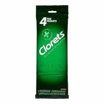 Clorets Gum - Original - 4 pack