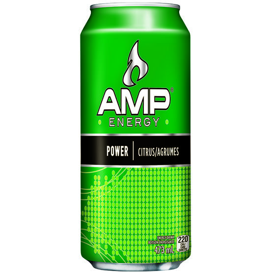 Amp Energy Drink - 473ml